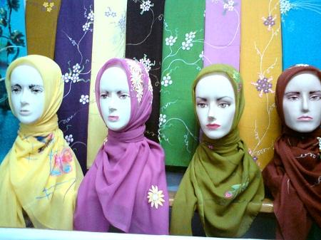 Sentra Produsen Jilbab