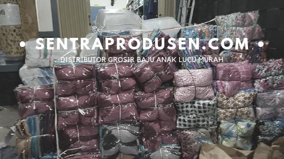 Distributor Grosir Baju Anak Lucu Murah meriah