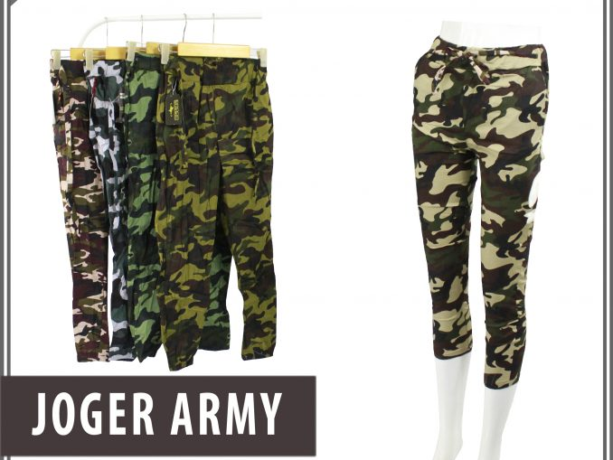 Bisnis Jogger Army Dewasa Murah