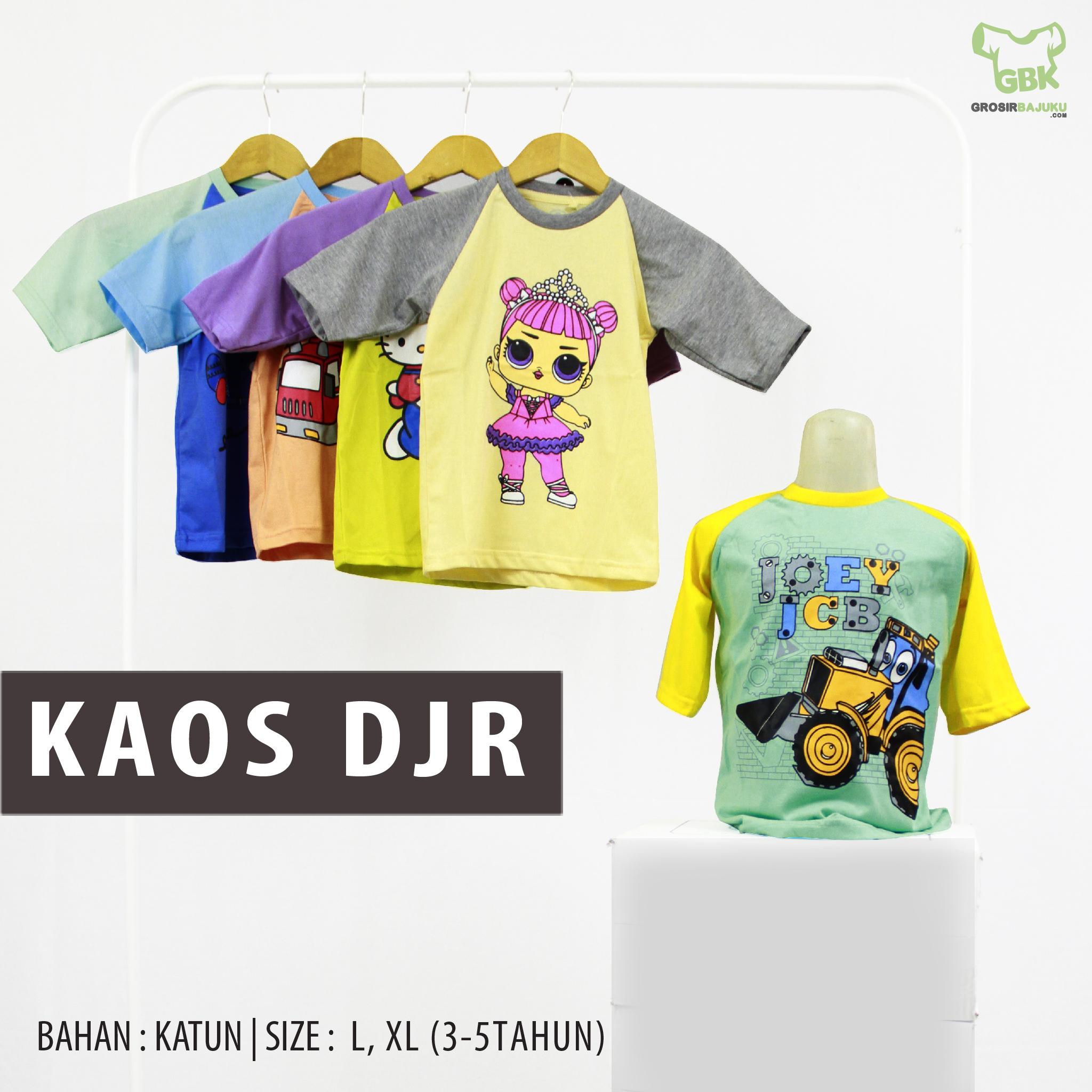 Distributor Kaos Distro DJR Murah