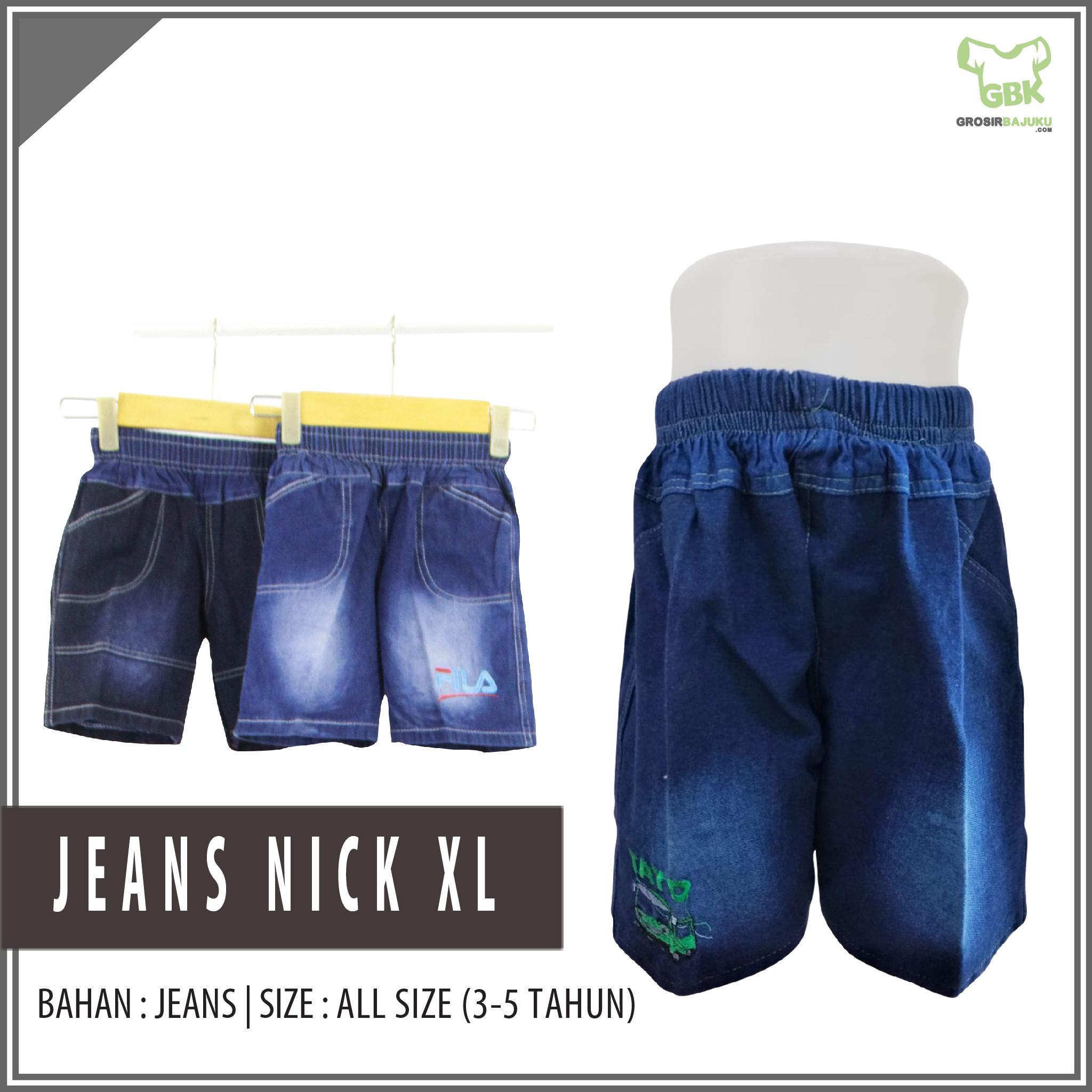 Grosir Jeans Nick XL Murah