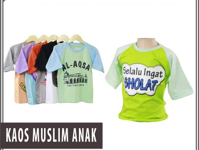 Produsen Kaos Muslim Anak Murah