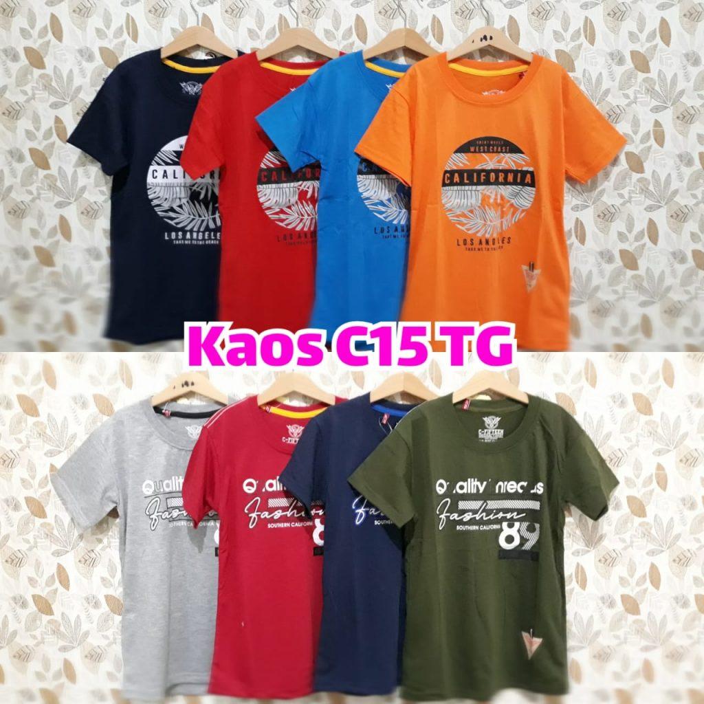 Distributor Kaos C15 TG Termurah