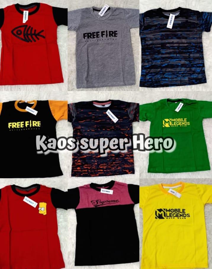 Grosir Termurah Kaos Superhero Lelang Di Jawa Timur